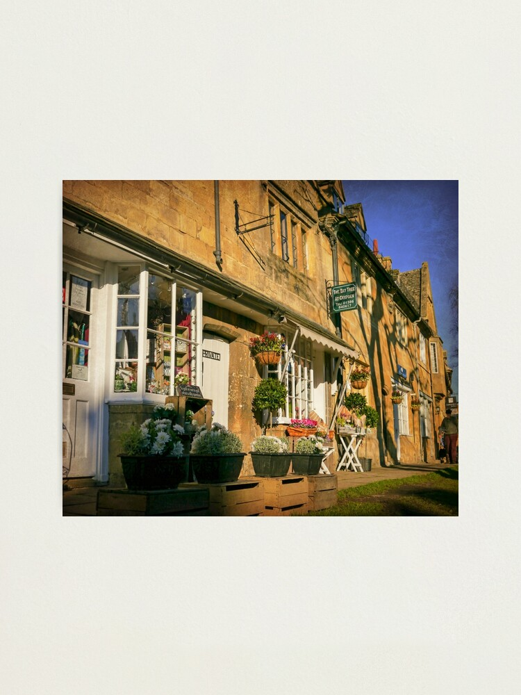 Alternate view of Sunny Chipping Campden Photographic Print