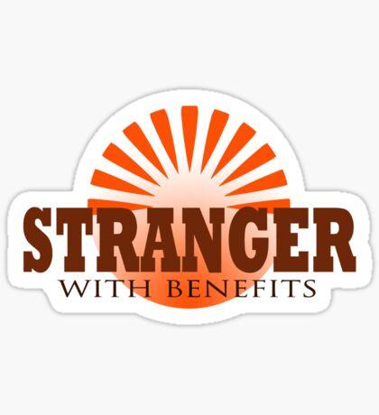 Stranger t-shirt Sticker