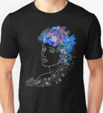 With flowers in her hair T-Shirt