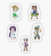 Pixel Professors 1 Sticker