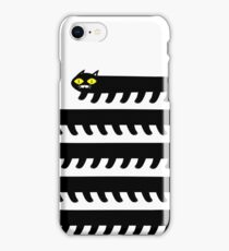 Cryptid Long Cat  iPhone Case/Skin