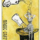 Magic Castle Gibson Girl by Hajra Meeks