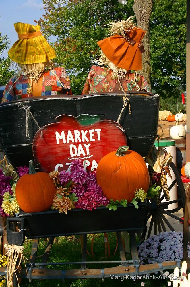 Market Day by Mary Kaderabek-Aleckson