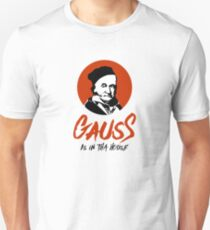 Carl Friedrich Gauss T-Shirt for mathematicians and scientists Unisex T-Shirt