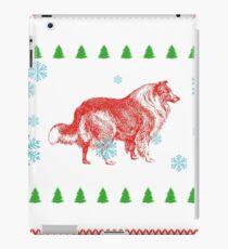 gift christmas weihnachten geschenk dog hund mastiff  iPad Case/Skin