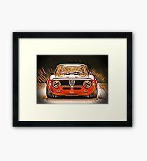 Alfa Romeo Giulia GT Junior Framed Print