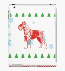 gift christmas weihnachten geschenk dog terrier dog hund  iPad Case/Skin
