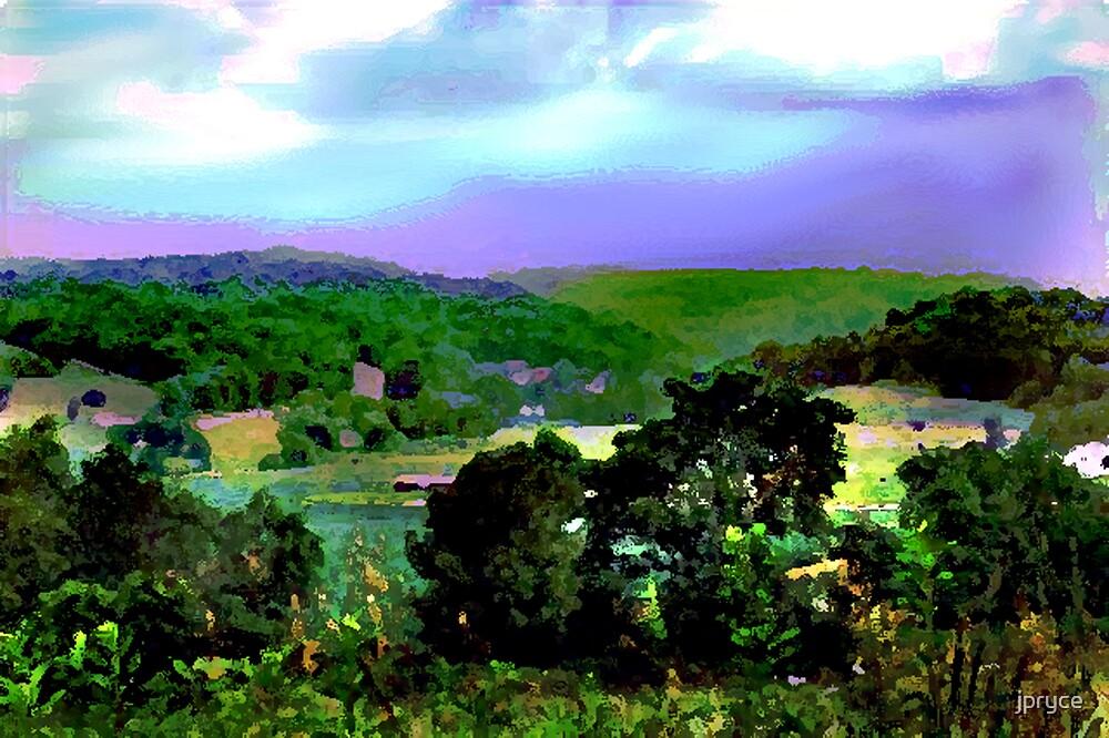 Eastern PA Valley by jpryce