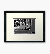 """Invisible"" Framed Print"