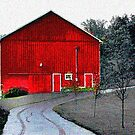 Compton House Barn II by jpryce