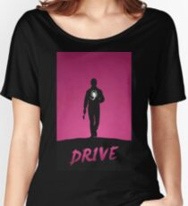 Drive Film Poster Women's Relaxed Fit T-Shirt