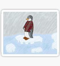 Penguin in a jumper  Sticker