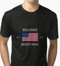 Billings Montana Tri-blend T-Shirt