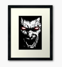 The Berserker Framed Print