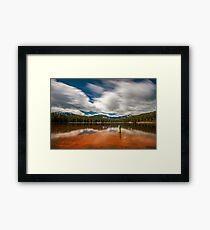 Orange Beach of Lost Lake Framed Print