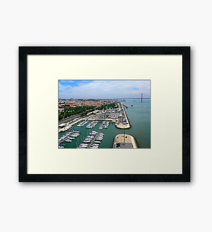 Belém Docks Framed Print