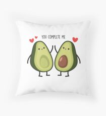 You complete me... Throw Pillow