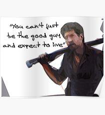 Walking Dead Shane Poster