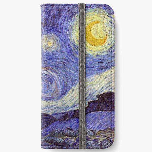 Vincent Van Gogh Starry Night iPhone Wallet