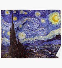Vincent Van Gogh Starry Night Poster