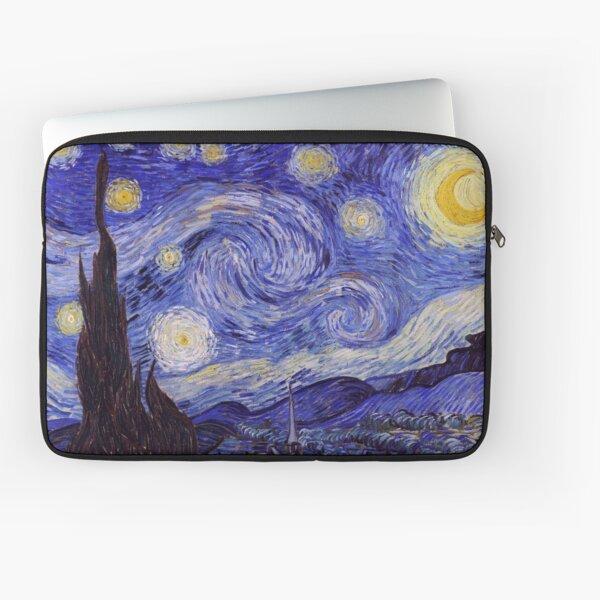 Vincent Van Gogh Starry Night Laptop Sleeve