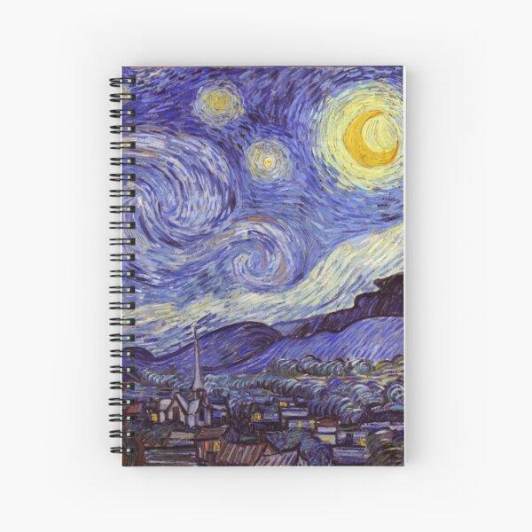 Vincent Van Gogh Starry Night Spiral Notebook