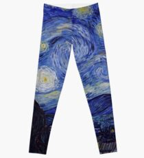 Vincent Van Gogh Starry Night Leggings