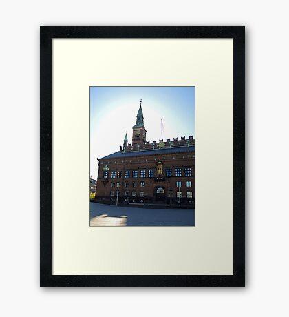 Copenhagen City Hall Framed Print