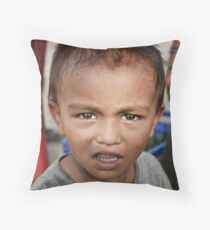 The fruiters son Throw Pillow