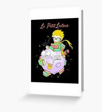 Le Petit Lecteur - The Little Reader Greeting Card