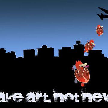 make art not war by wreckfish