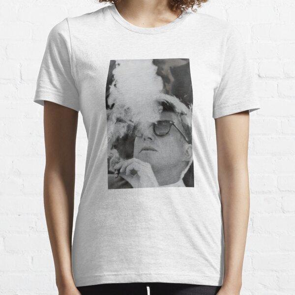JFK Smoking with Shades John F. Kennedy President T-Shirt Essential T-Shirt