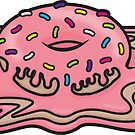 Melting Donut by Cameron Kinchen