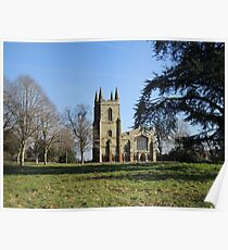 Canons Ashby Church Poster