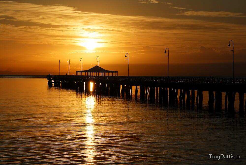 Sunrise at Sandgate by TroyPattison