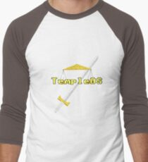 TempleOS New Men's Baseball ¾ T-Shirt