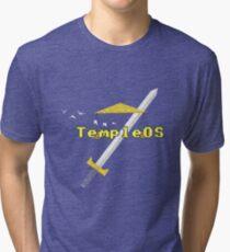 TempleOS New Tri-blend T-Shirt
