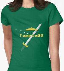 TempleOS New Women's Fitted T-Shirt