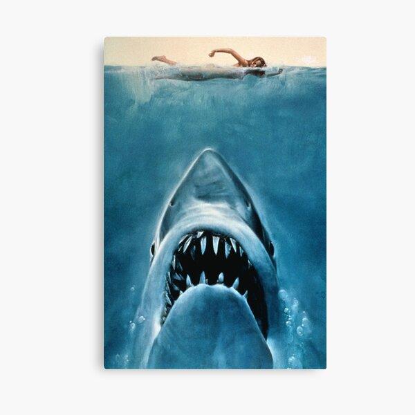 JAWS SHARK Canvas Print