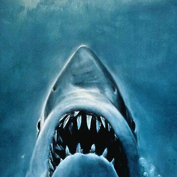 JAWS SHARK by JealousPervert