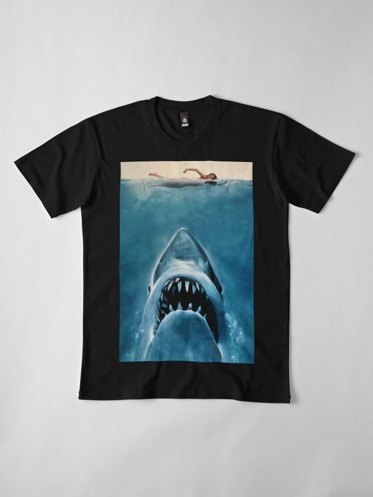 Alternative Ansicht von JAWS SHARK Premium T-Shirt