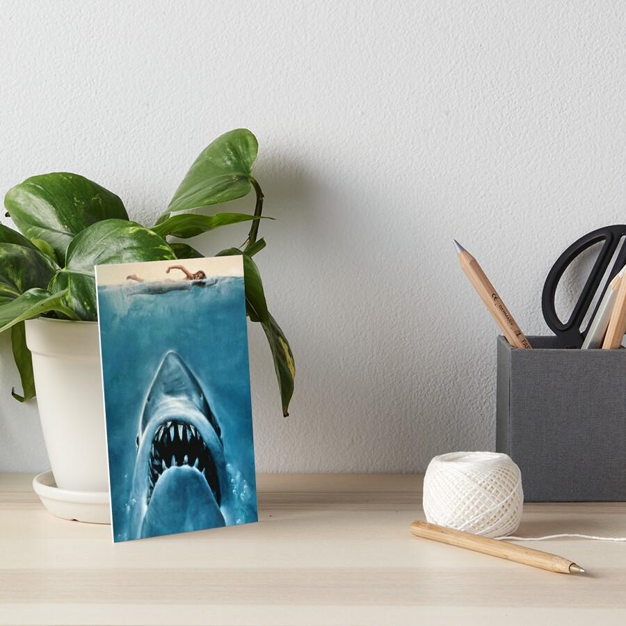 JAWS SHARK Galeriedruck