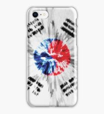 Extruded flag of South Korea iPhone Case/Skin