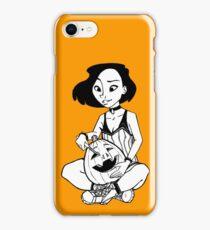 Inktober 2017 - Day 19 - Pumpkin Carving iPhone Case/Skin