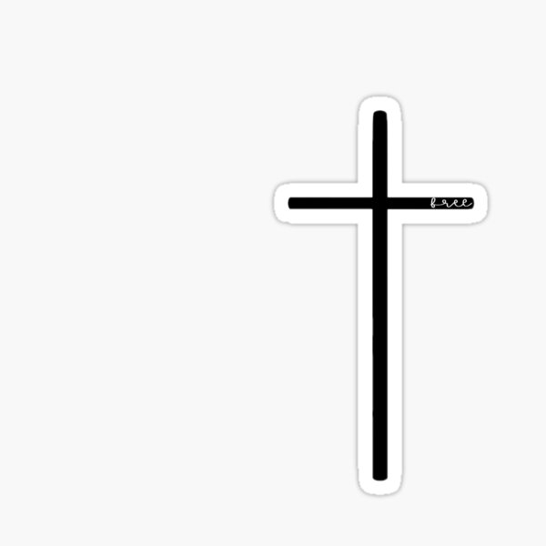 Free Cross Sticker