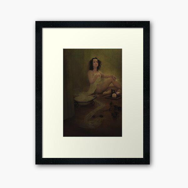 Cultus Procul Meus Sanctus Templum Framed Art Print