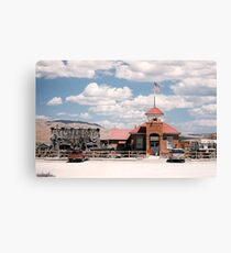 Yesterdays Caf-A, Dell, Montana Canvas Print
