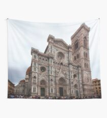 Cathedral of Saint Mary of the Flower - Florence - Italy Wall Tapestry