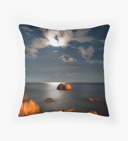 Moonlight Romance  Throw Pillow