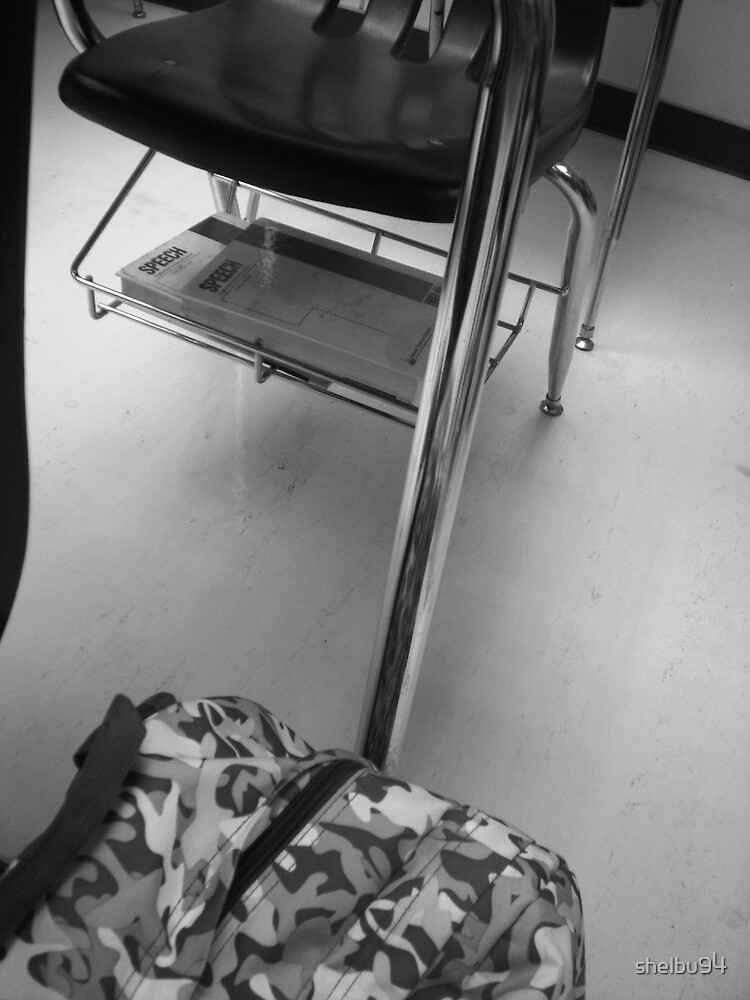 A Student's Life: Hard Desks and Heavy Backpacks by shelbu94